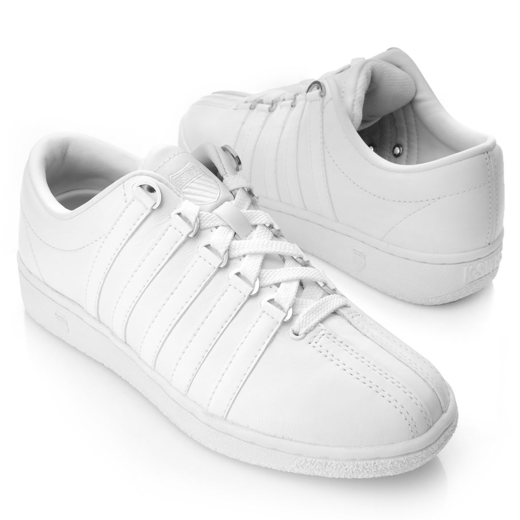 716-488 - K-Swiss® Women's Leather Classic Luxury Edition™ Sneakers