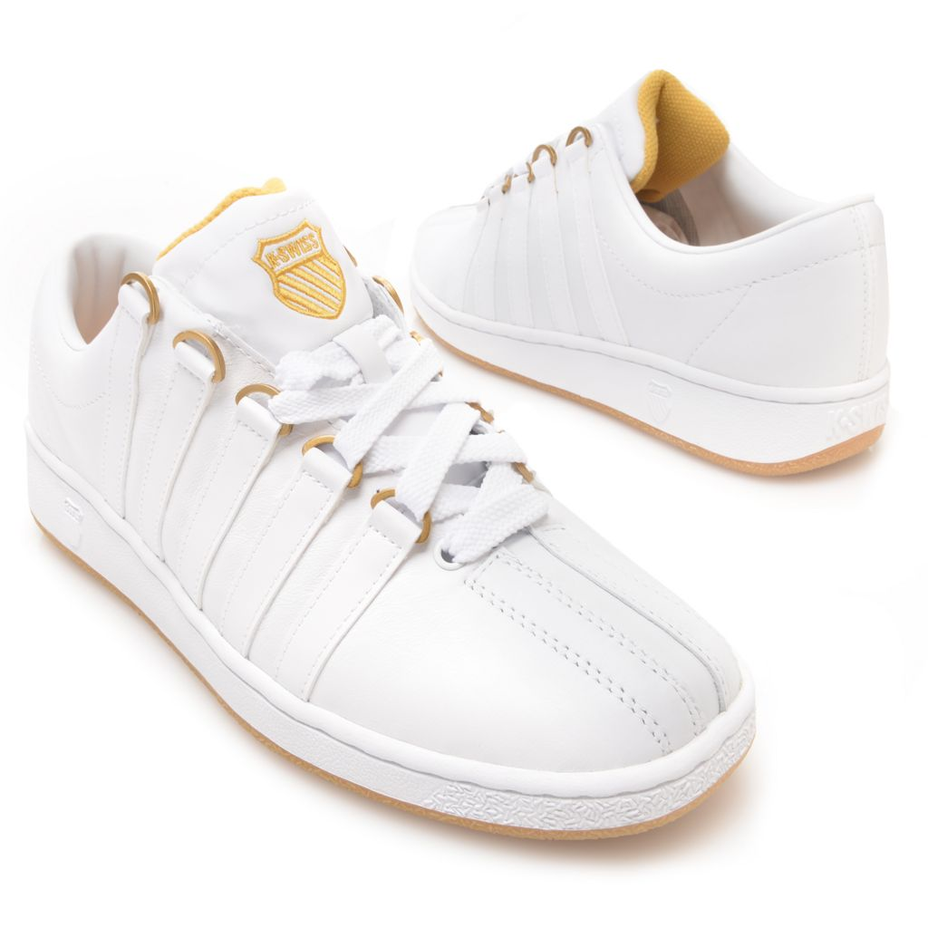 716-492 - K-Swiss® Men's Leather Classic Luxury Edition™ Sneakers
