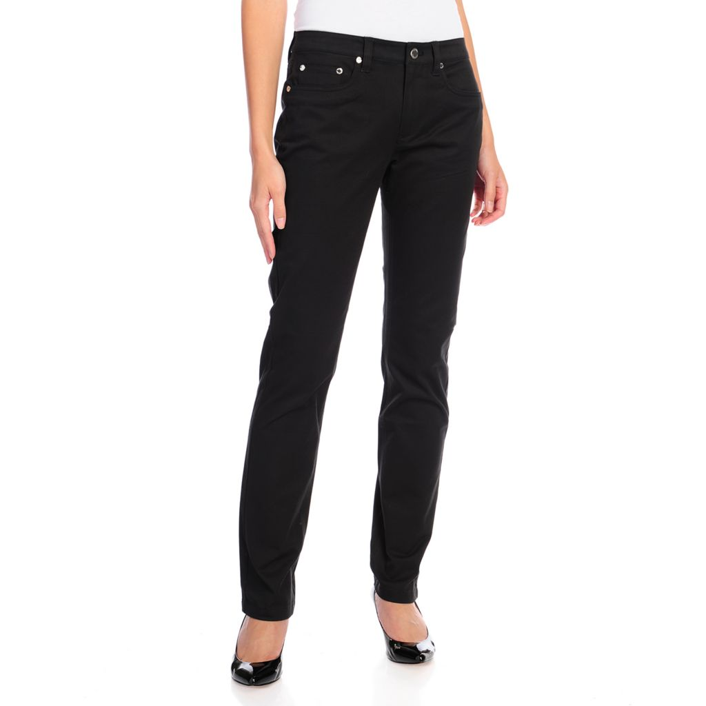 716-681 - Brooks Brothers® Stretch Twill Full Length Tapered Leg Five-Pocket Pants