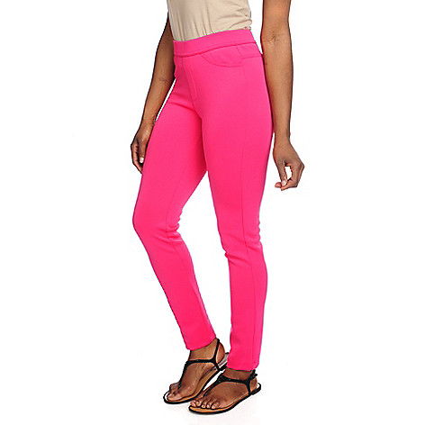 716-742 - Kate & Mallory® Techno Knit Ankle-Length Pull-on Leggings