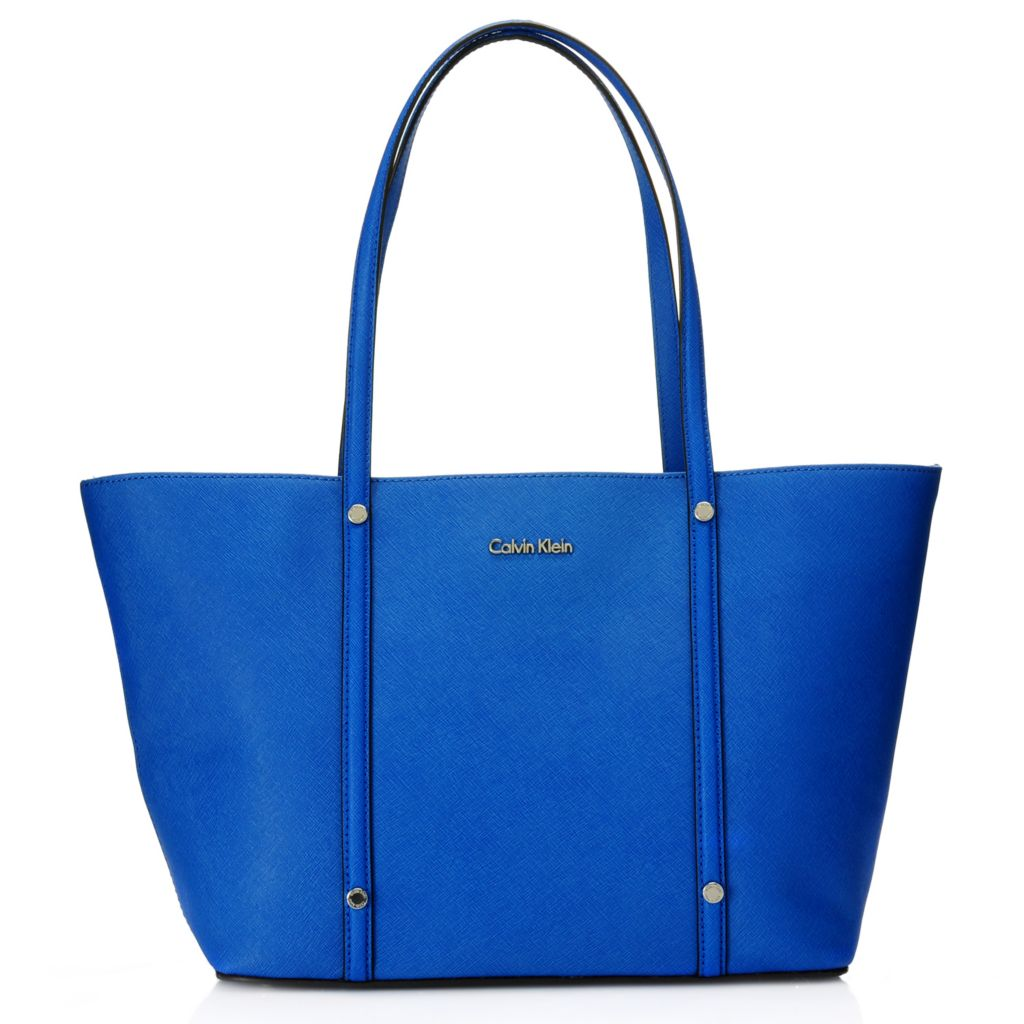 716-924 - Calvin Klein Handbags Saffiano Leather Tote