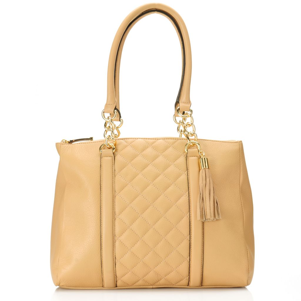 716-931 - Calvin Klein Handbags Quilted Leather Tote