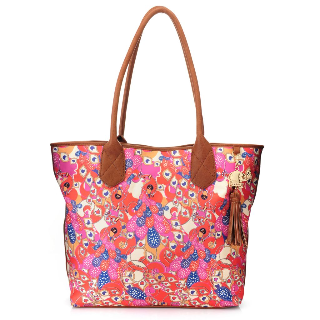 717-259 - BollyDoll™ Printed Double Handle Oversized Tote Bag