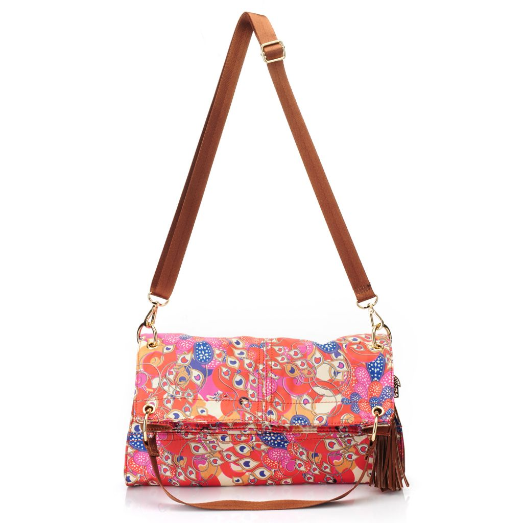 717-262 - BollyDoll™ Printed Fold-over Convertible Cross Body Bag