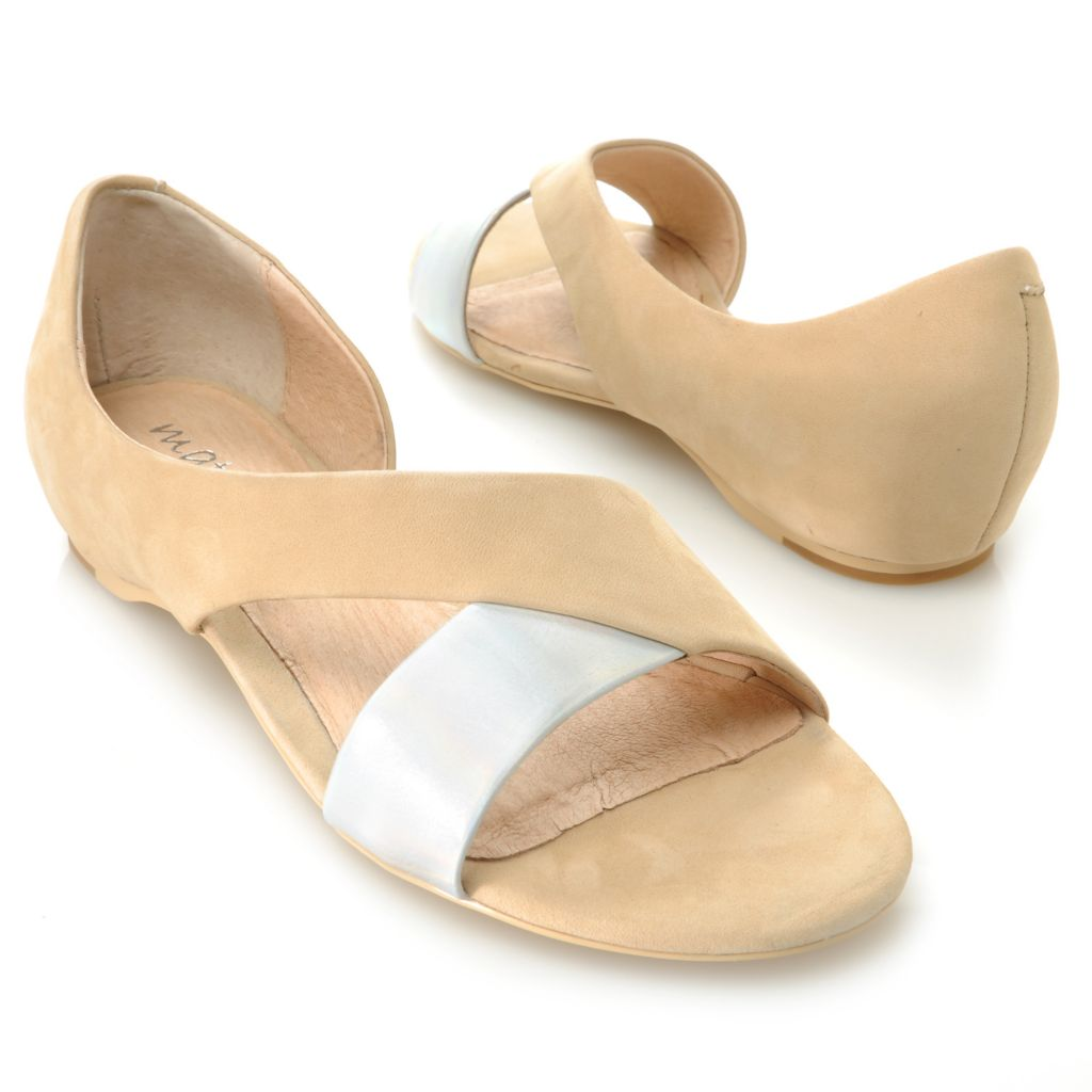 717-271 - Matisse® Leather Open Toe Cut-out Flats