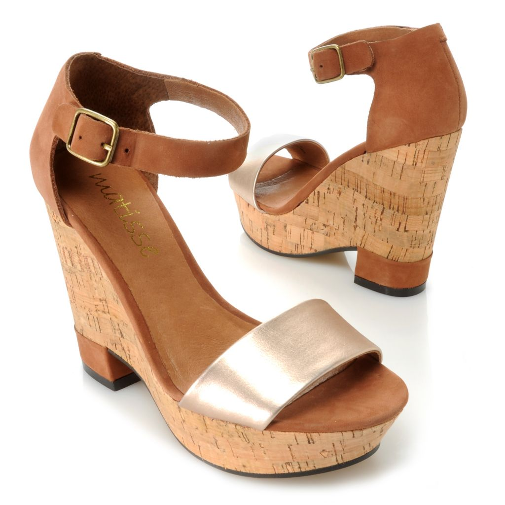 717-276 - Matisse® Suede Leather Wedge Sandals