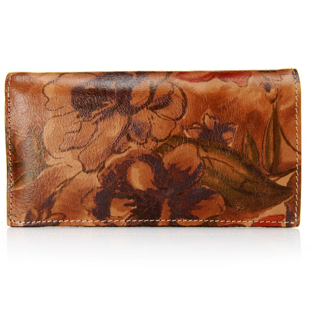717-378 - Patricia Nash Leather Bi-fold Wallet