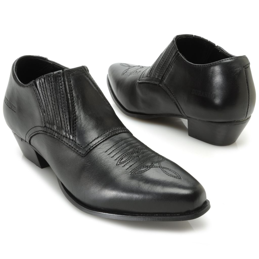 717-413 - Durango Leather Pointed Toe Slip-on Shoe Boots