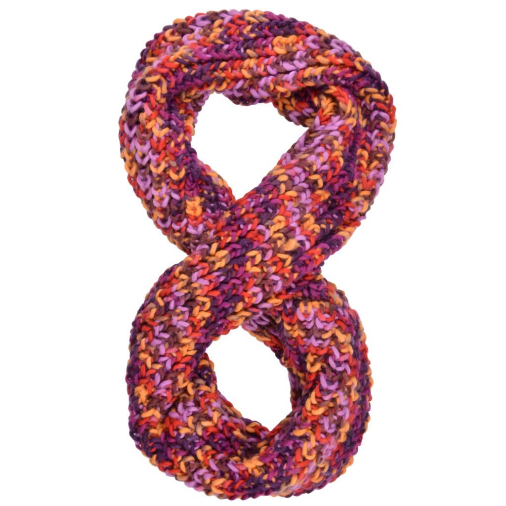 717-564 - Journee Collection Women's Multi Color Knit Infinity Scarf