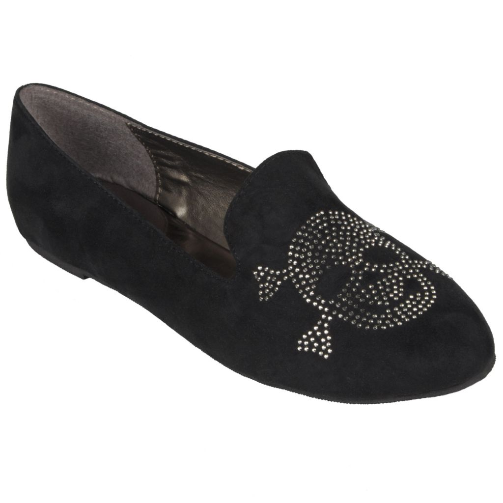 717-667 - Hailey Jeans Co. Women's Round Toe Stud Accent Flats