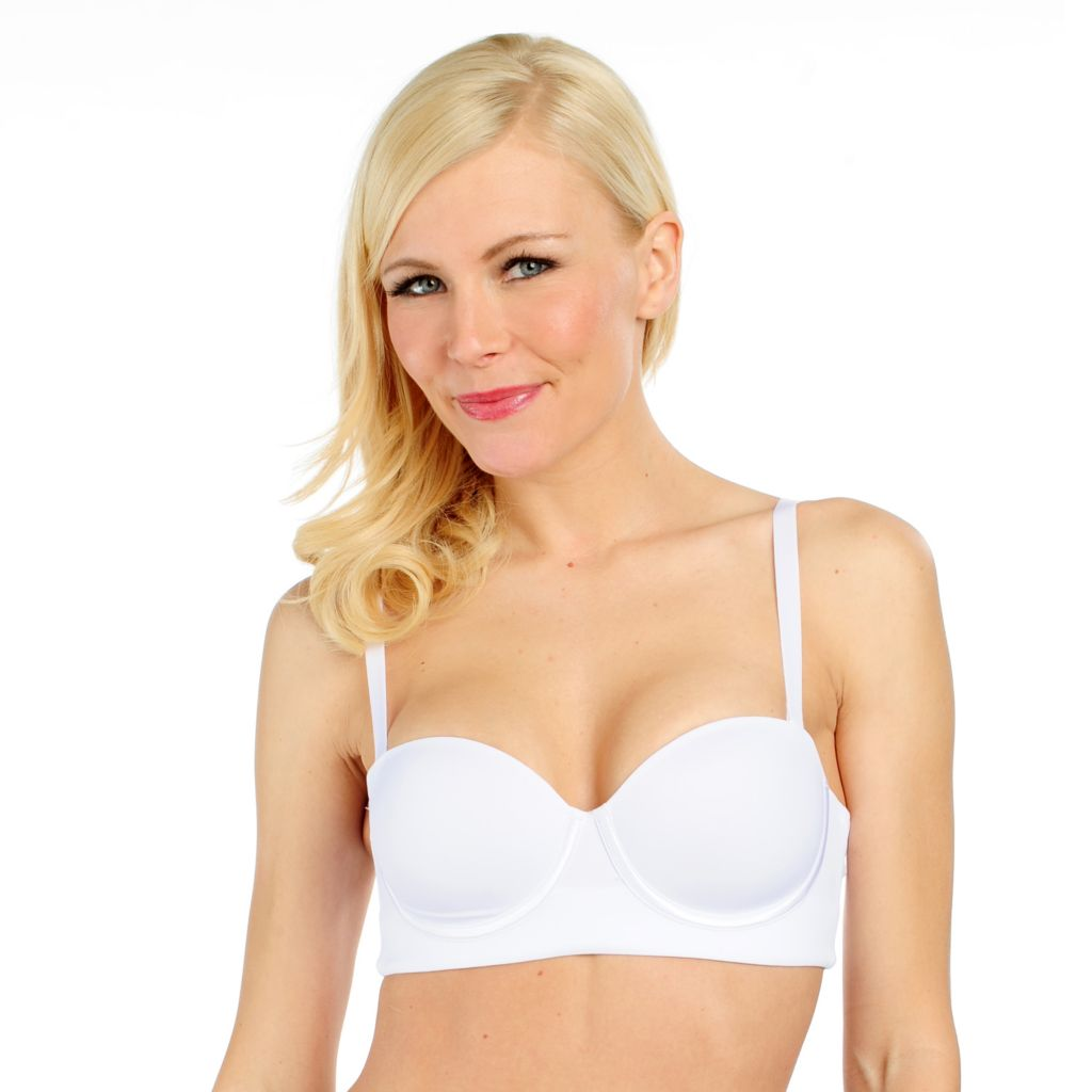 717-721 - Leonisa™ Stretch Knit Smooth Versatile Strapless Bra
