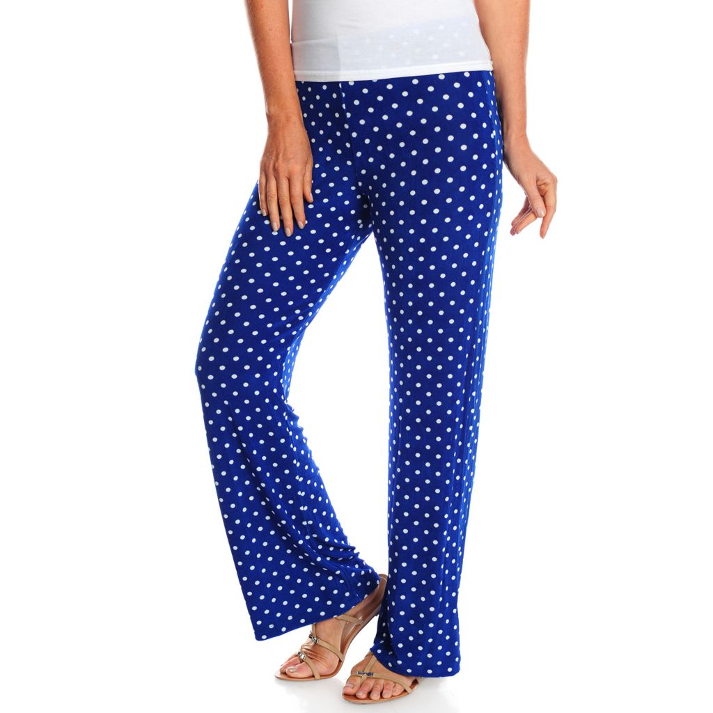 717-728 - Affinity for Knits™ Wide Leg Elastic Waist Pull-on Pants