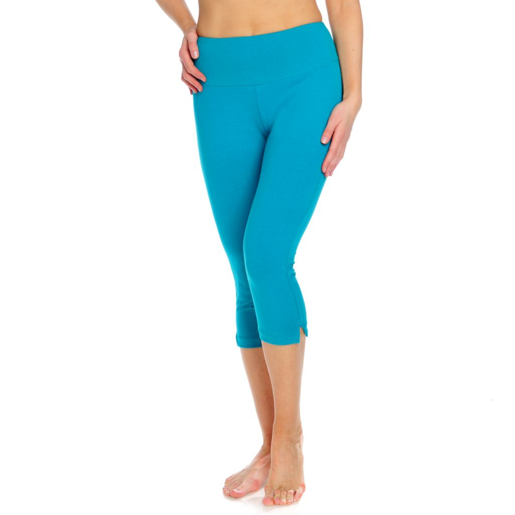 717-752 - Slim-A-Size Stretch Knit Everyday Control Slim Leg Capri Pants