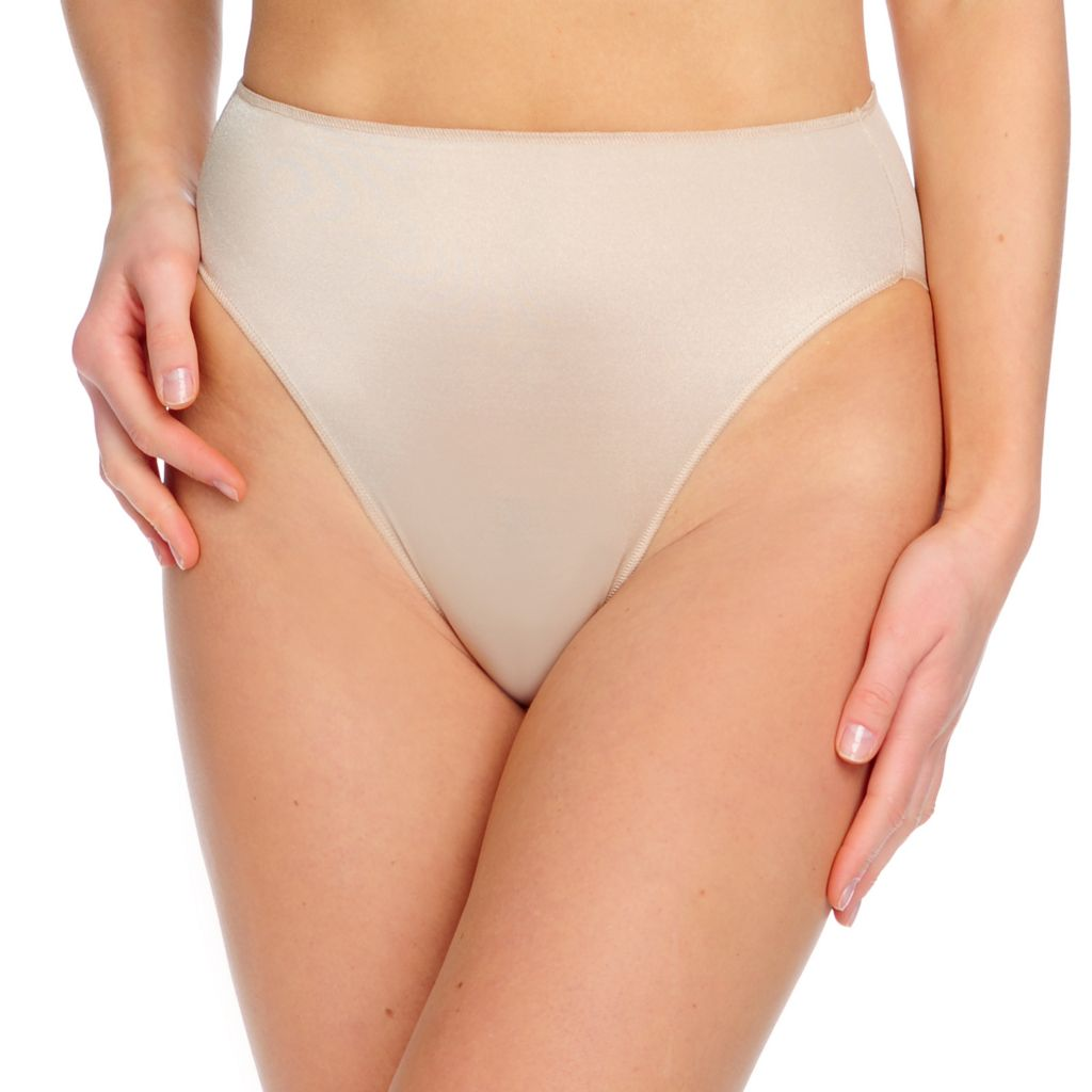 717-863 - TC® Intimates Stretch Woven Regular Rise High Cut Panties
