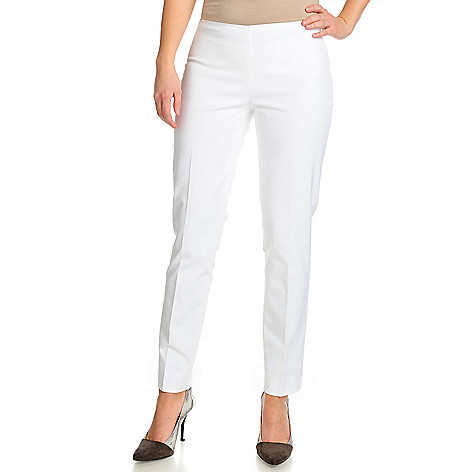 717-893 - Brooks Brothers® Woven Fully Lined Side Zip Closure Ankle Length Pants