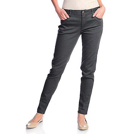718-044 - OSO Casuals™ Super Stretch Twill Five-Pocket Slim Leg Pants