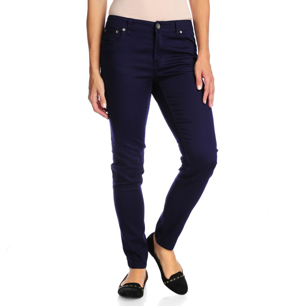 718-045 - OSO Casuals Stretch Twill Full Length Slim Leg Five-Pocket Pants