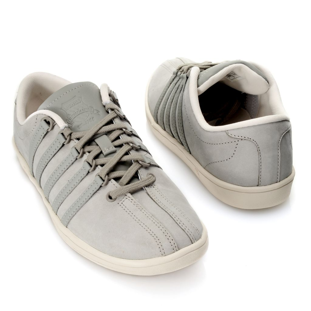 718-077 - K-Swiss® Women's Leather Classic Lace-up Sneakers