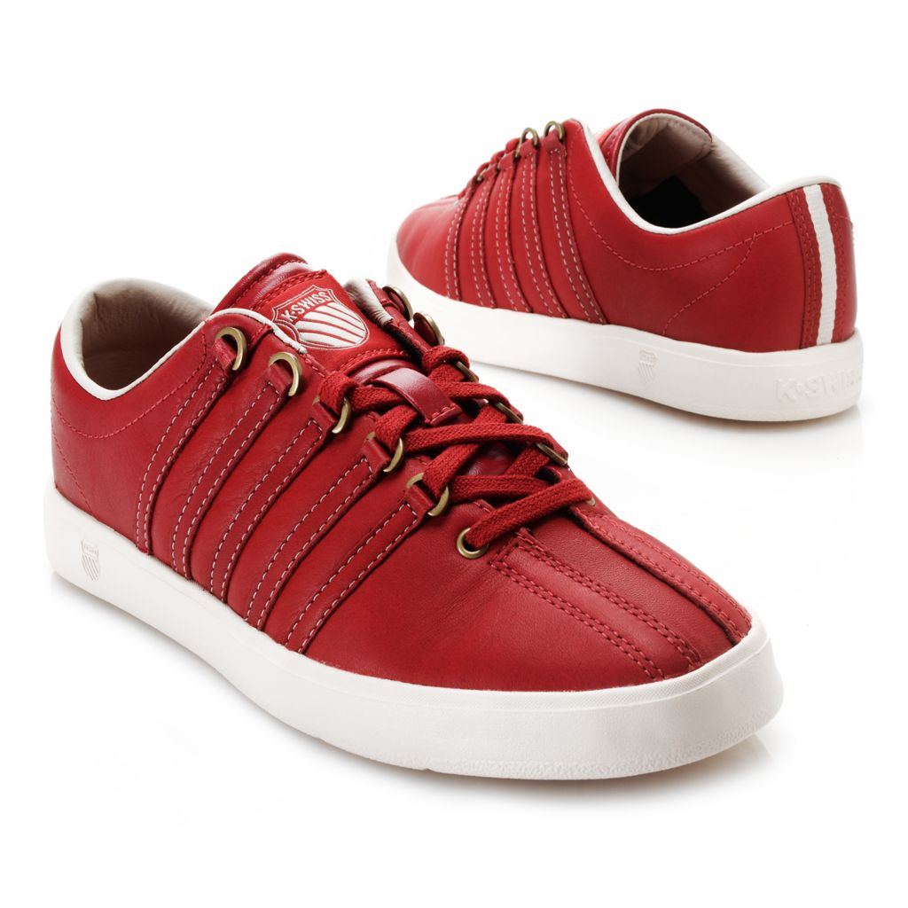 718-081 - K-Swiss® Women's Leather Classic Lite P™ Sneakers
