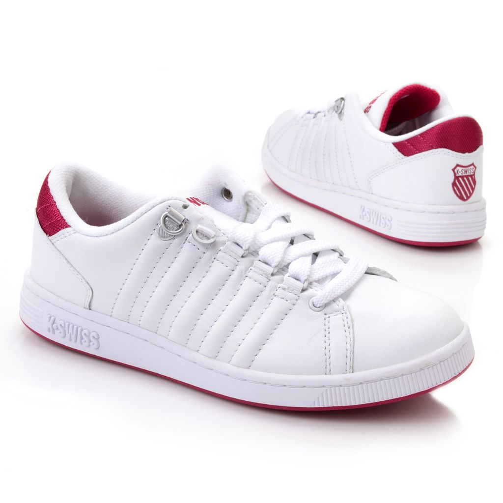 718-082 - K-Swiss® Women's Leather Lozan III™ Sneakers