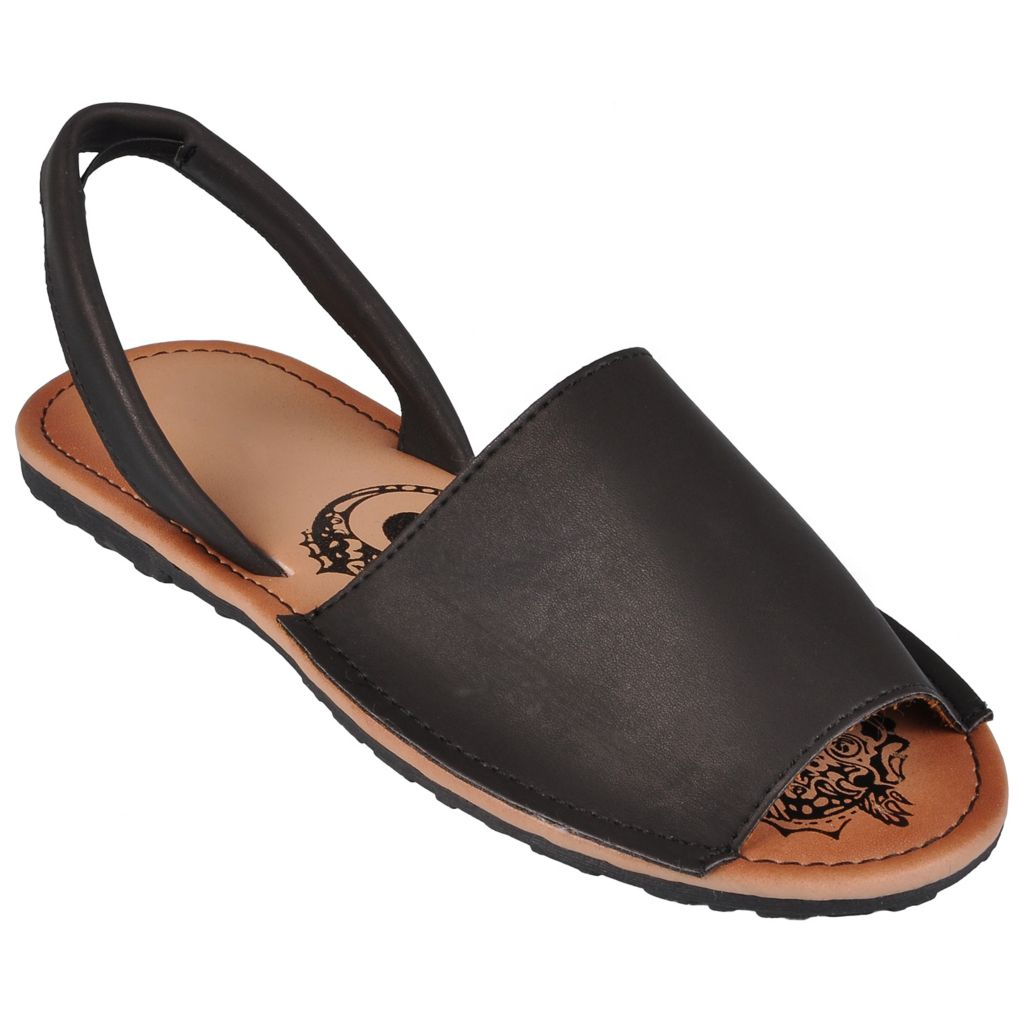 718-214 - Hailey Jeans Co. Women's Slingback Open Toe Flats