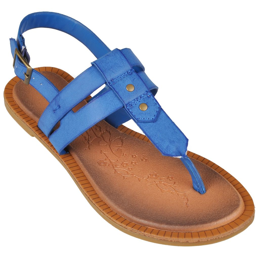 718-215 - Journee Collection Women's Sling-back T-Strap Sandals