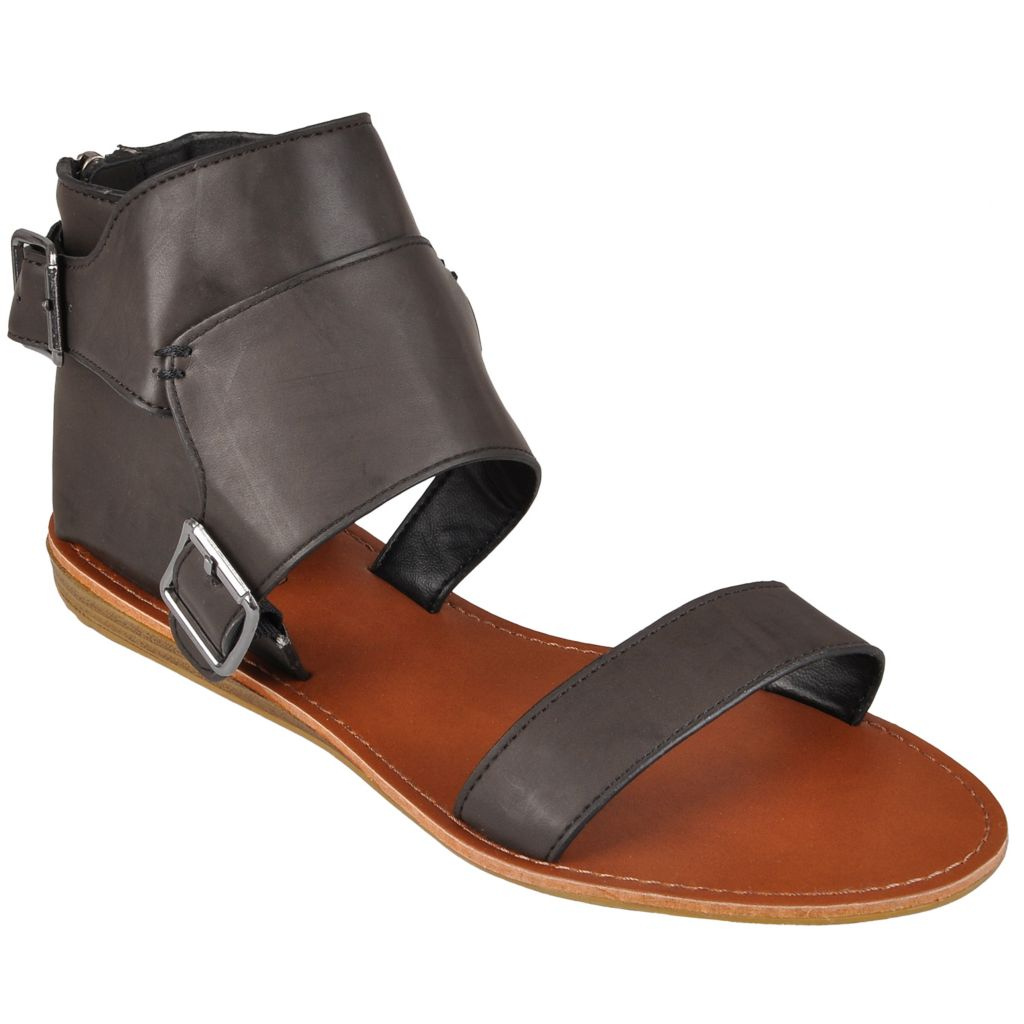 718-221 - Hailey Jeans Co. Women's Hooded Back Flat Sandals