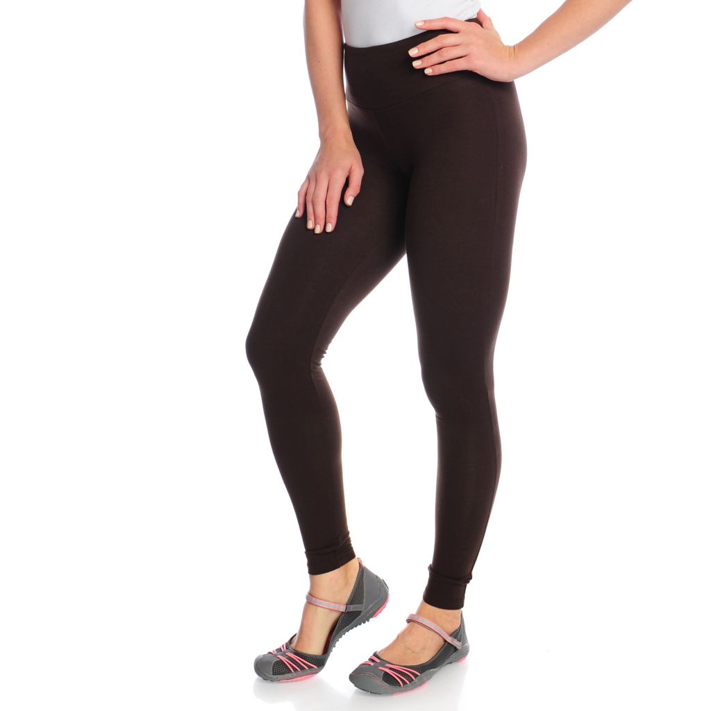 718-260 - OSO Casuals Stretch Cotton Full Length Smoothing & Slimming Leggings