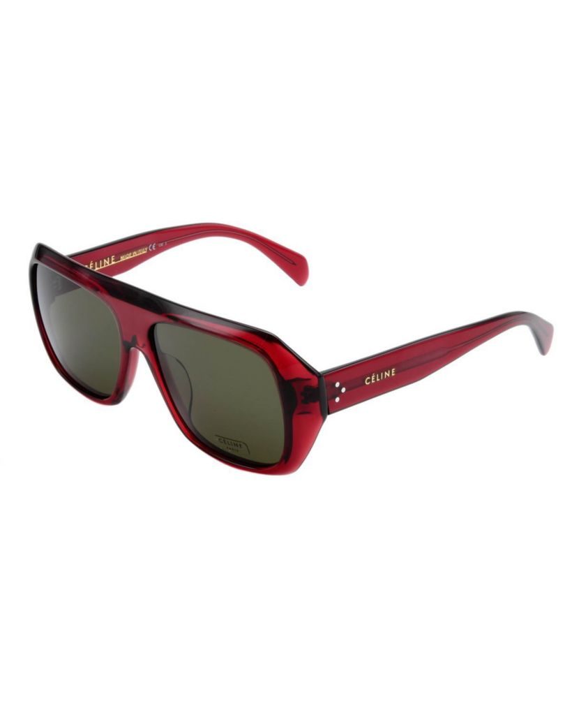 718-320 - Celine Women's Red Framed CL41028 Italian Sunglasses