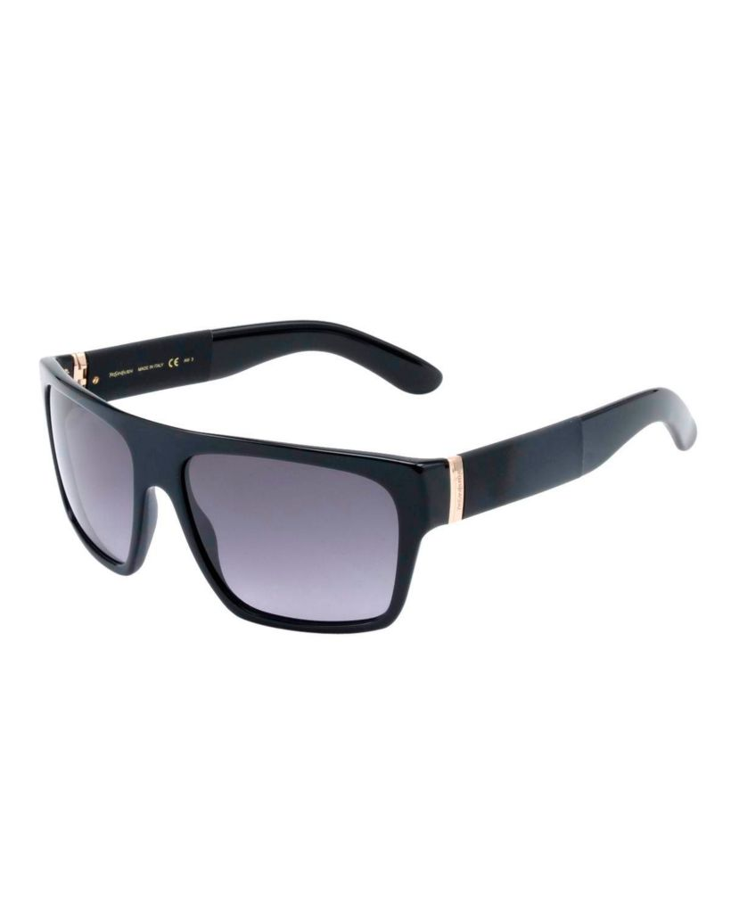 718-345 - Yves Saint Laurent Women's Black Italian Sunglasses