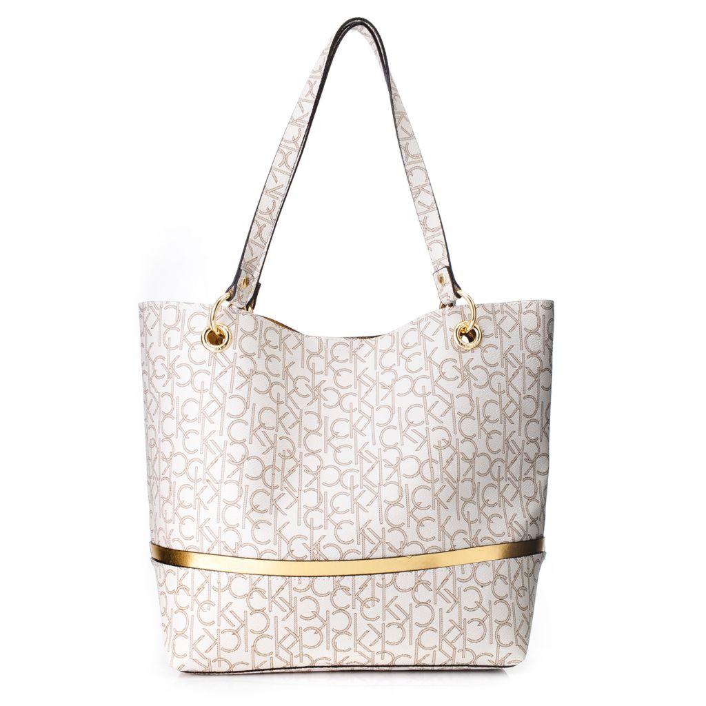 718-371 - Calvin Klein Handbags Logo Tote