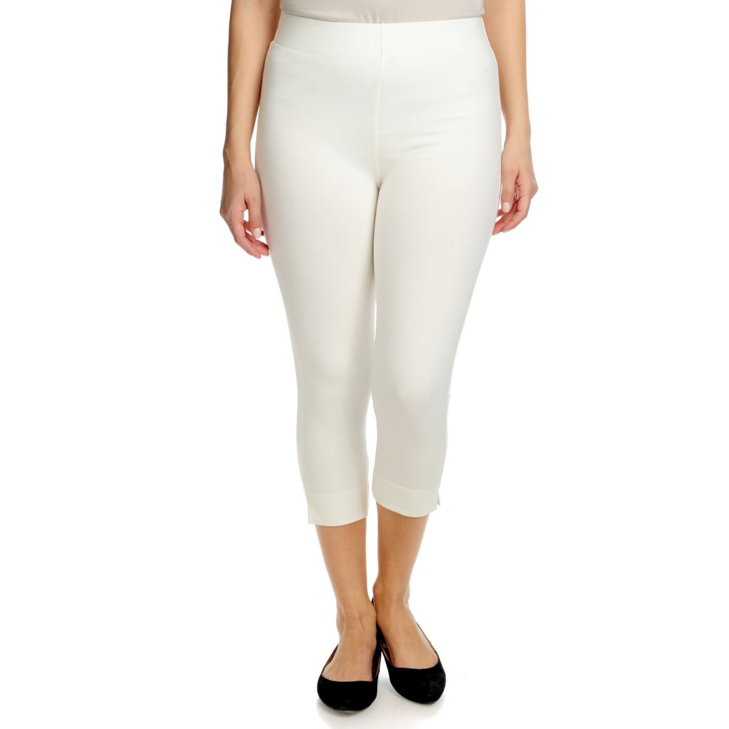 718-525 - Slimming Options™ for Kate & Mallory Capri Length Shape Control Knit Leggings