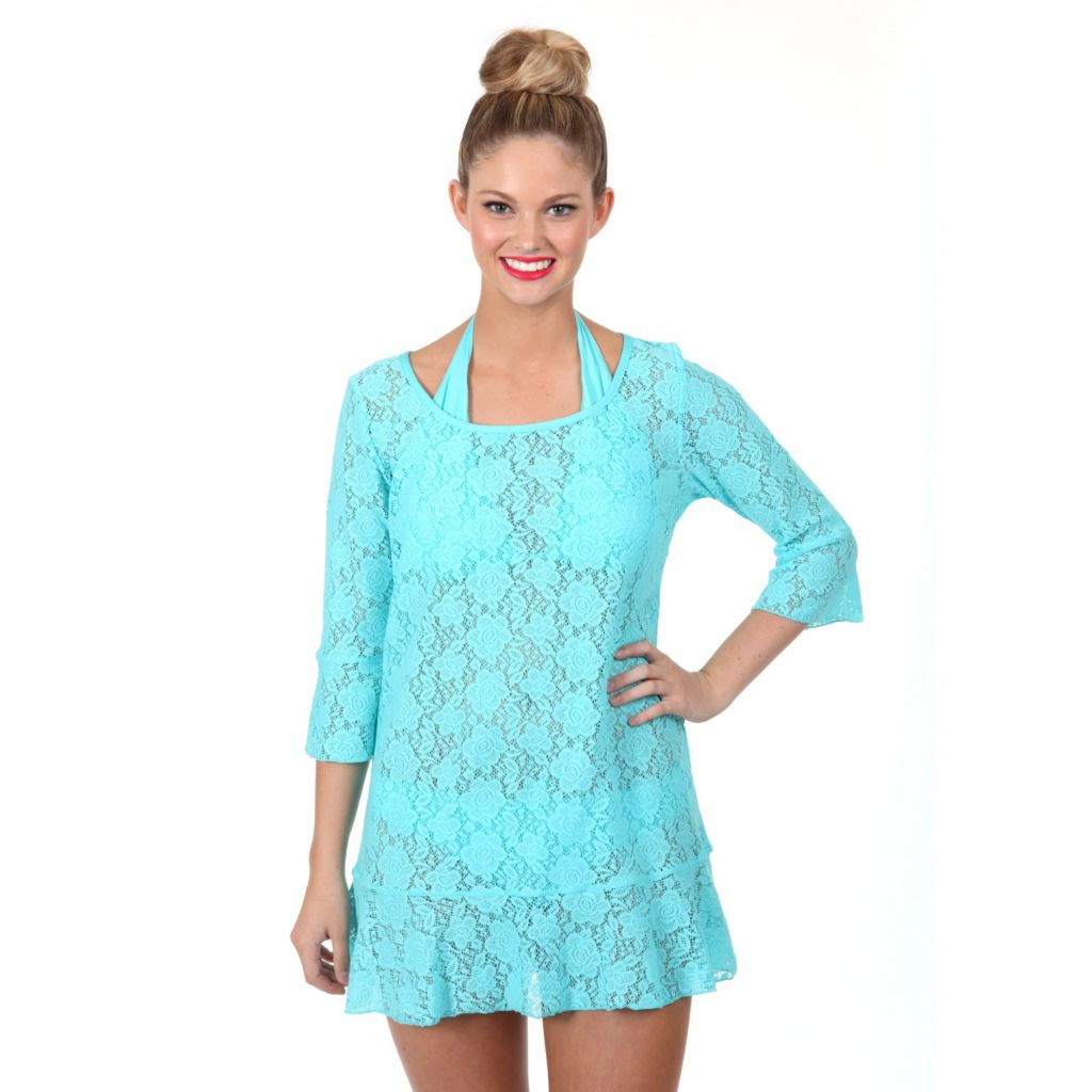 718-626 - Betsey Johnson Beach Cover-up Tunic