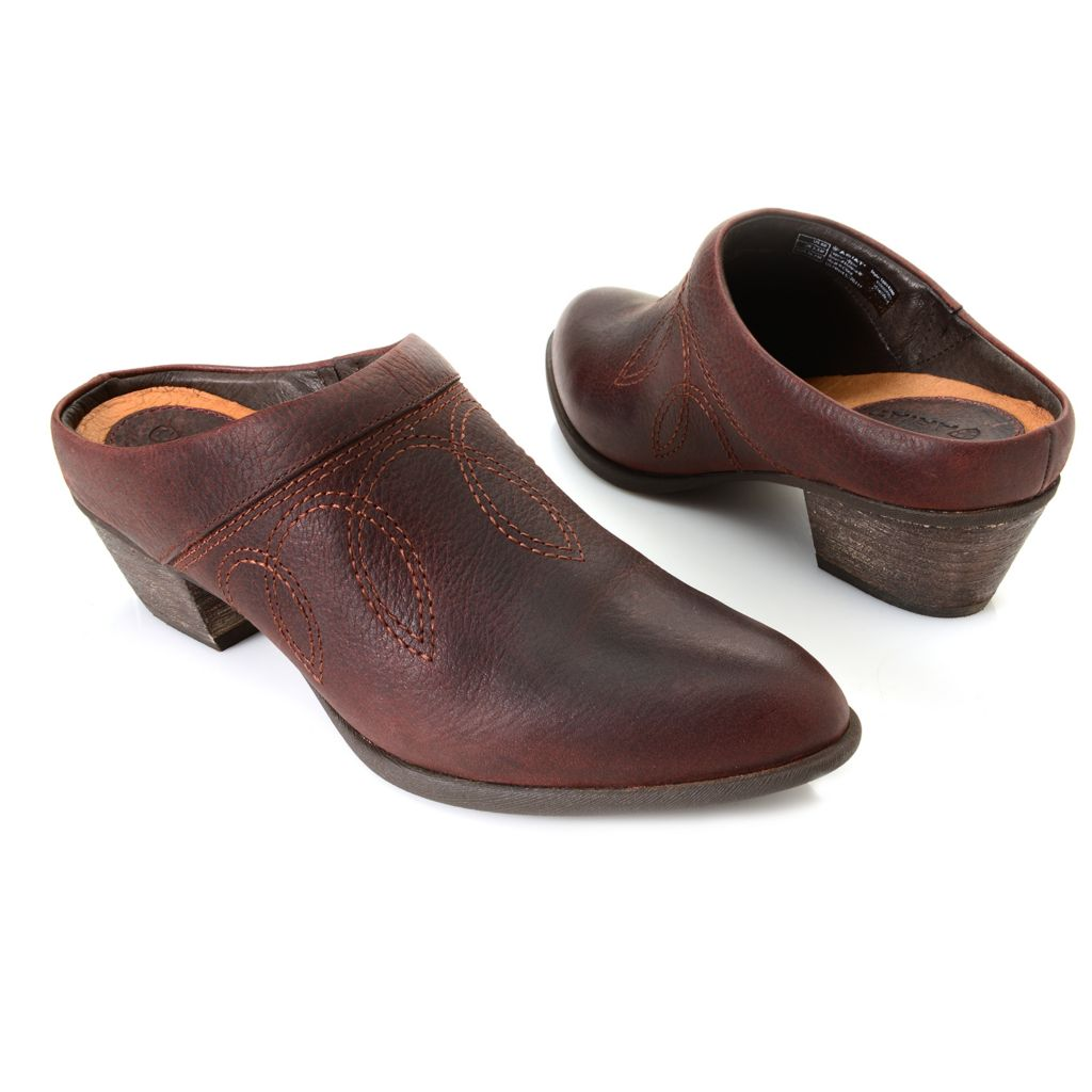 718-711 - Ariat® Leather Open Back Slip-on Shoe Boots