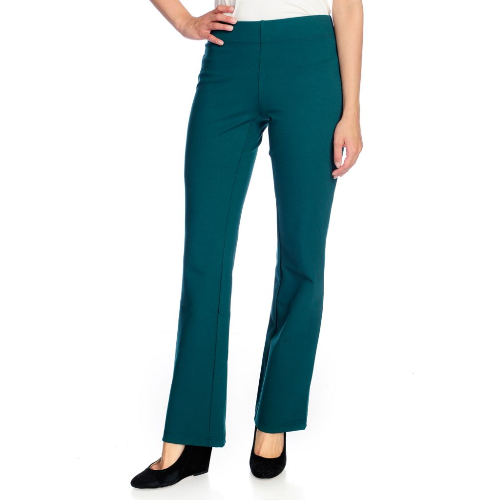 718-771 - Slimming Options™ for Kate & Mallory Ponte Knit Pull-on Leggings or Bootcut Pants