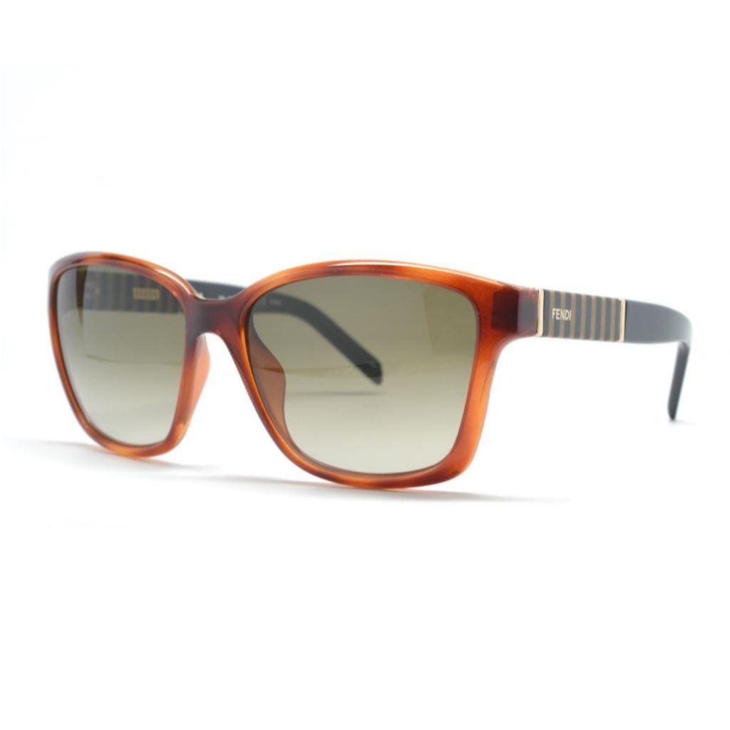 718-881 - Fendi Women's Light Tortoise Designer Sunglasses