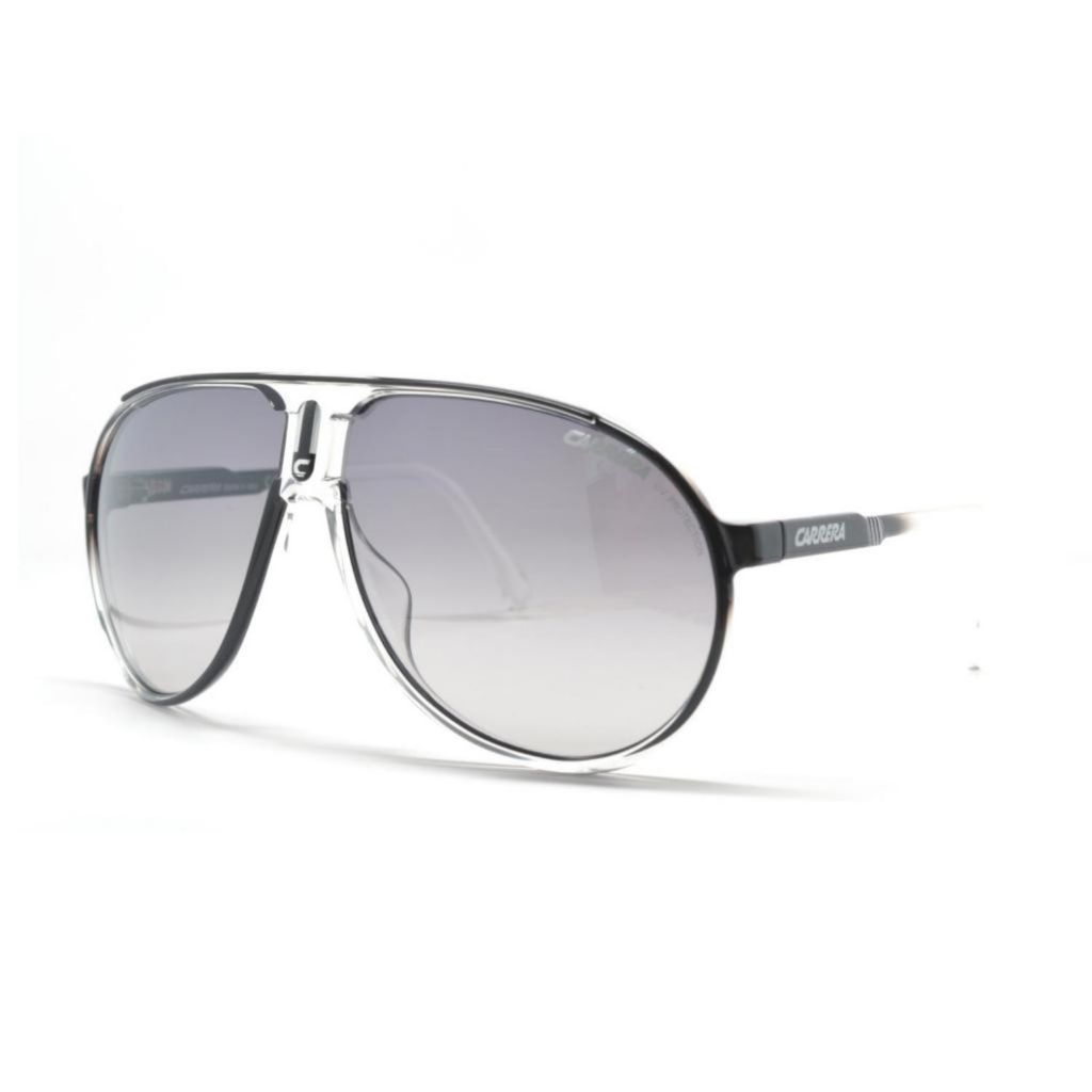 718-889 - Carrera Unisex Champion Crystal Black Designer Sunglasses