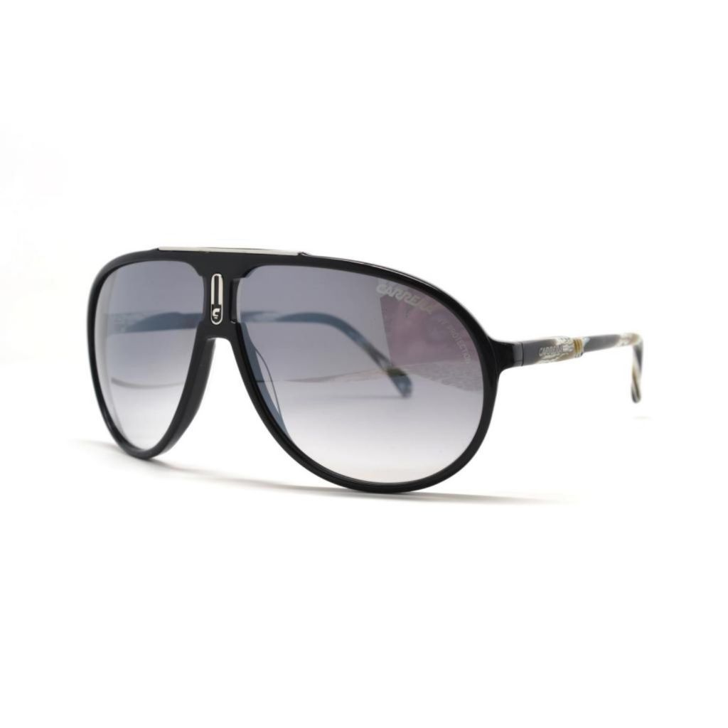 718-891 - Carrera Unisex Champion AC Black Designer Sunglasses