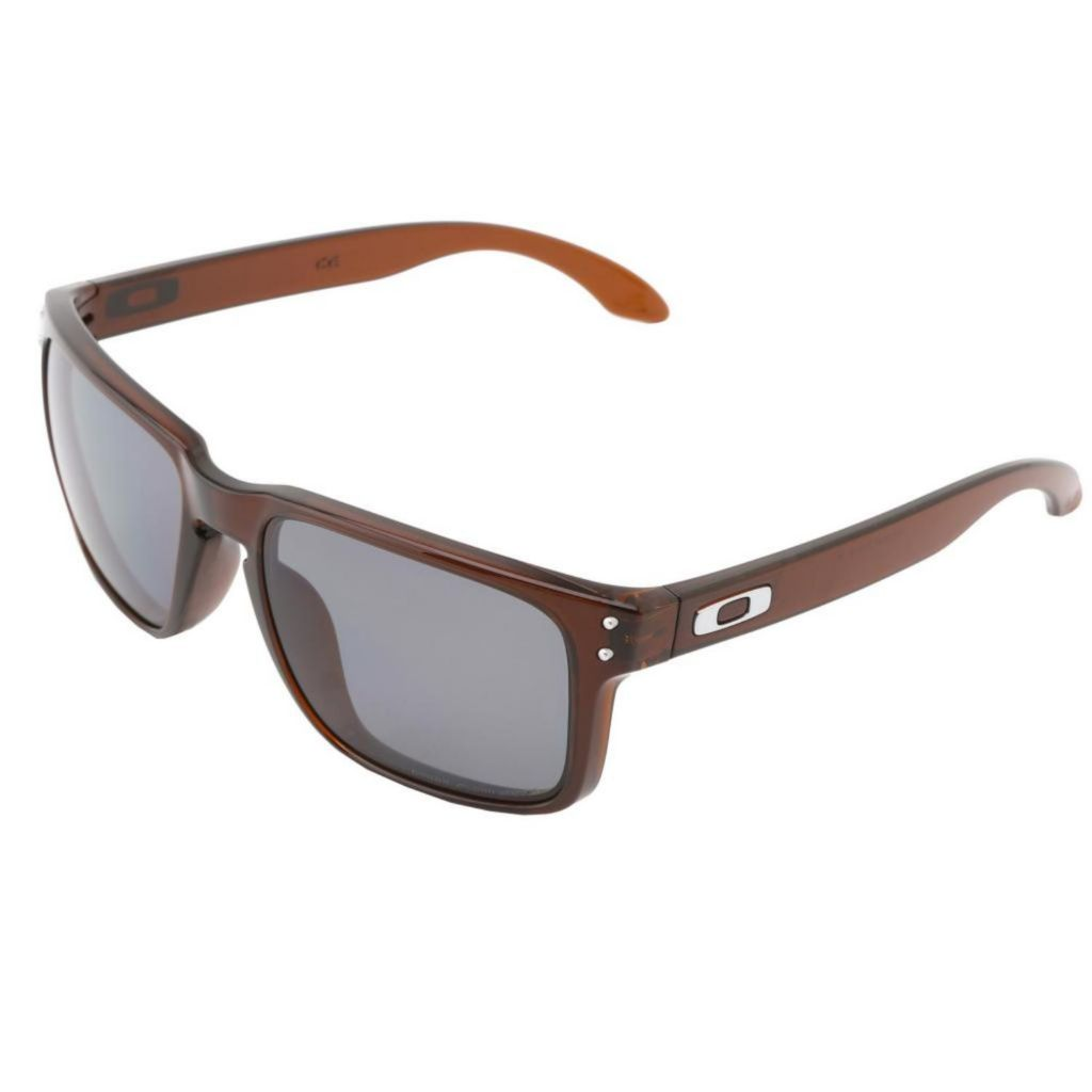 718-932 - Oakley Unisex Holbrook Brown Transparent Designer Sunglasses
