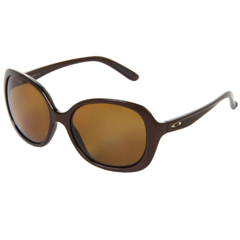 718-935 - Oakley Women's Backhand Brown Designer Sunglasses