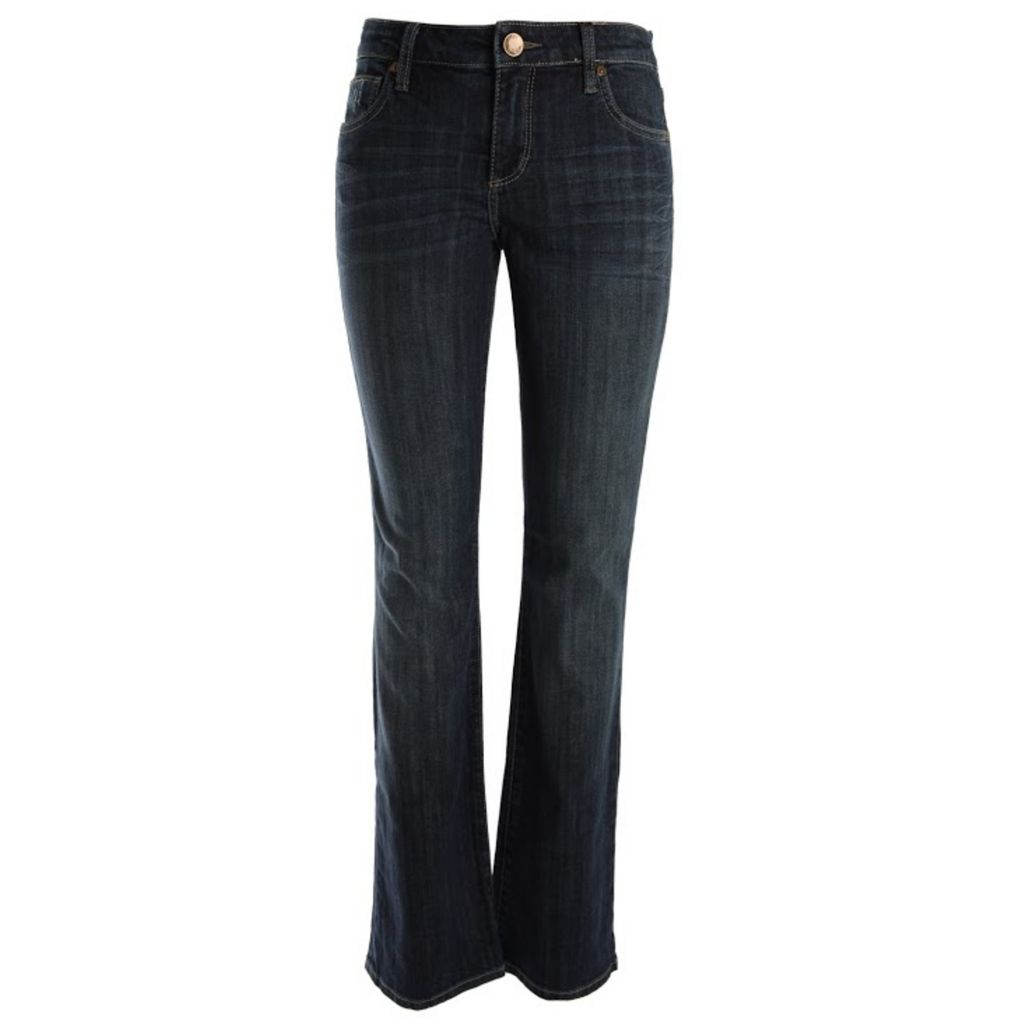 718-950 - KUT from the Kloth Farrah Boot Leg Five-Pocket Dark Blue Denim Pants