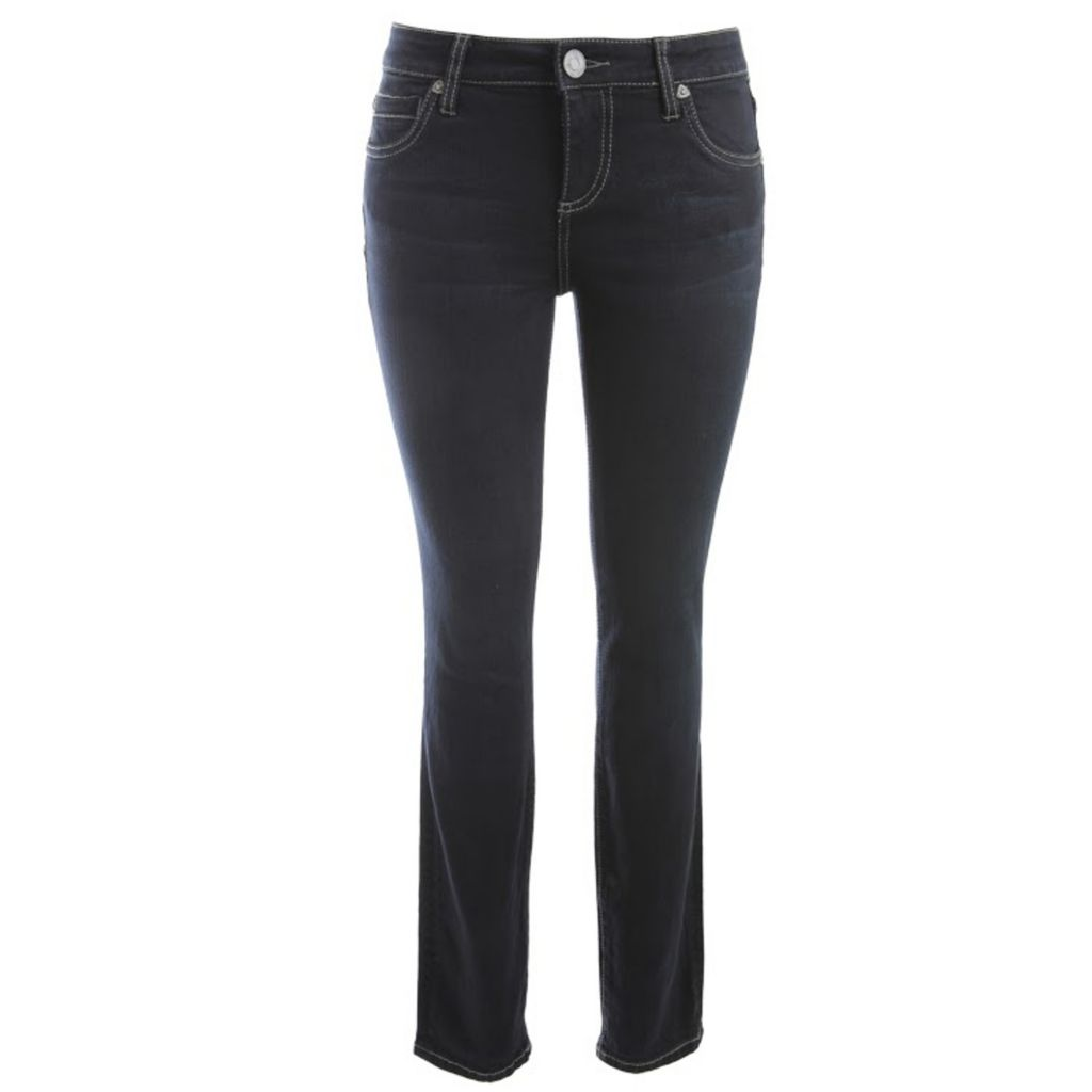 718-955 - KUT from the Kloth Diana Skinny Leg Five-Pocket Dark Blue Denim Pants