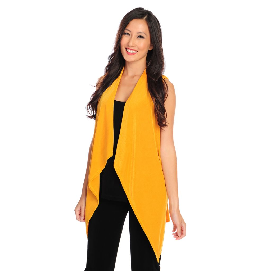 719-139 - Affinity for Knits™ Cascade Open Front Vest