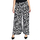 719-172 - Kate & Mallory Solid or Printed Knit Pull-on Palazzo Pants