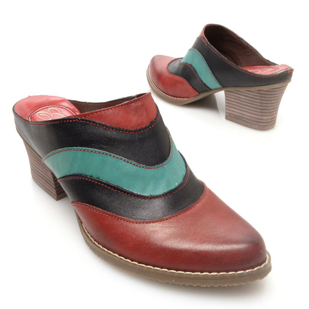 719-327 - Corkys Elite Leather Multi Color Slip-on Shoes