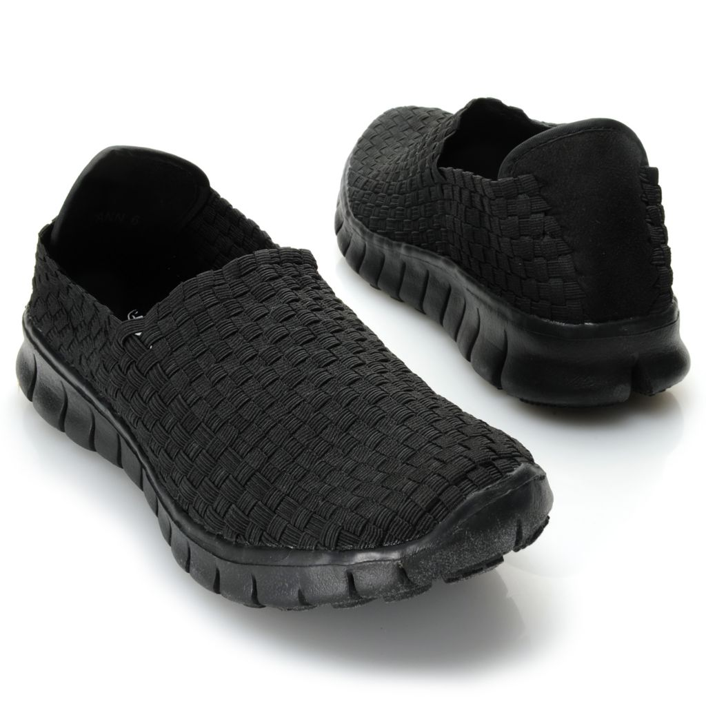719-339 - Corkys Featherlite Woven Elastic Slip-on Shoes