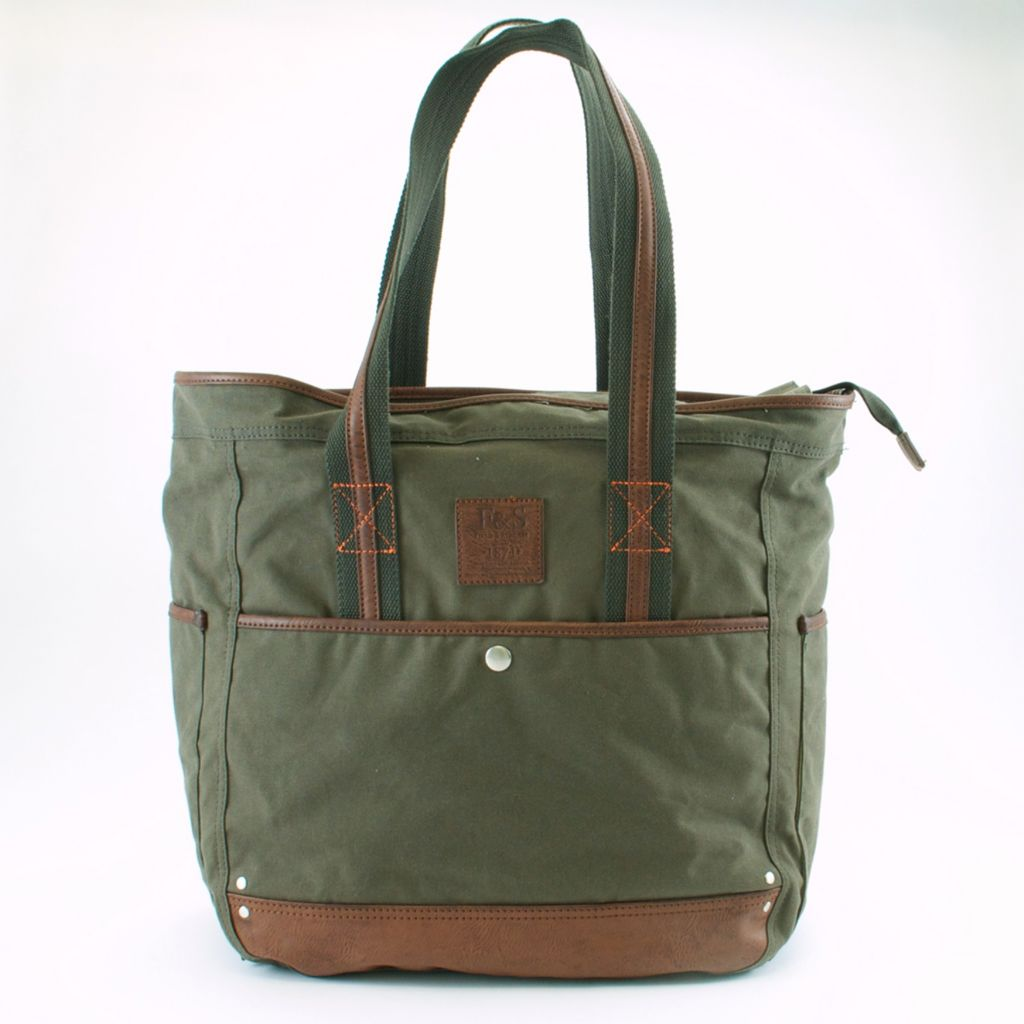 719-353 - Field & Stream Canvas Double Handle Tote