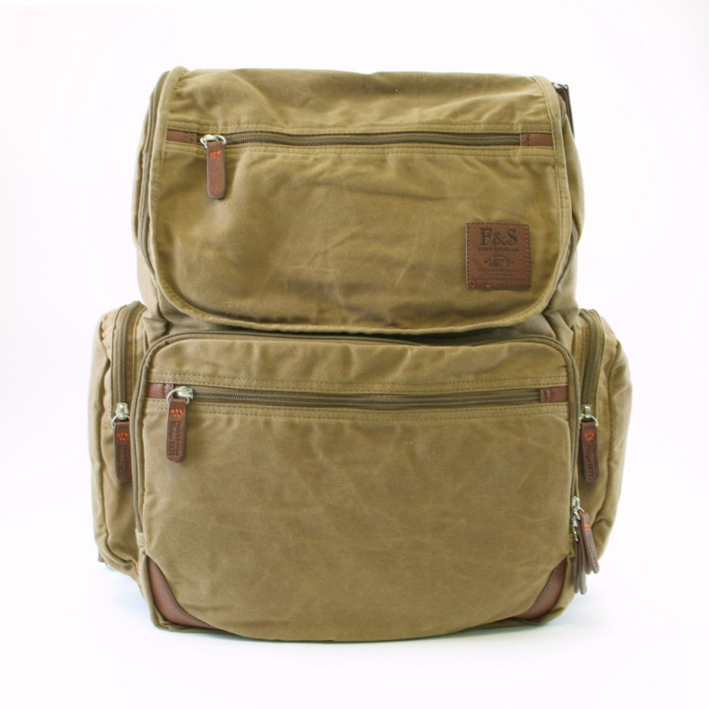 719-355 - Field & Stream Multi Pocket Backpack w/ Convertible Straps & Laptop Pocket
