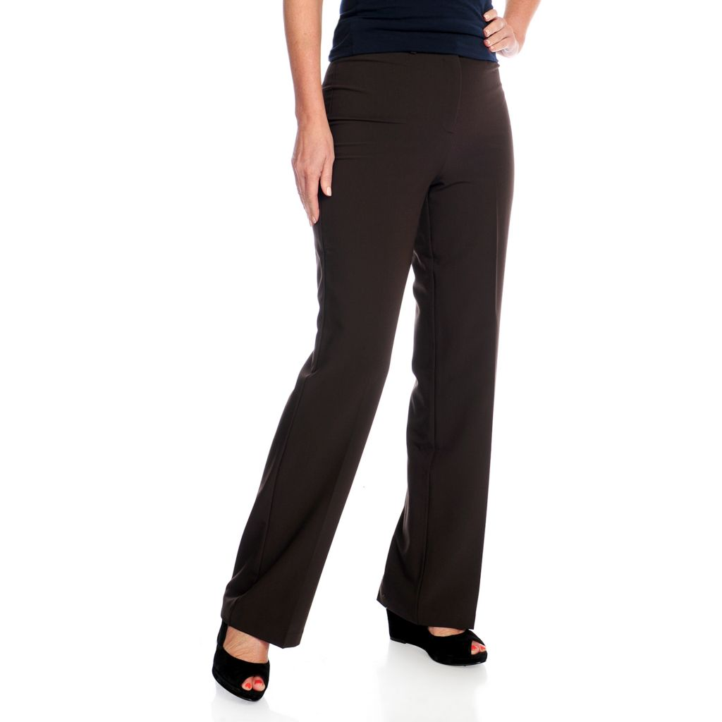 719-376 - Gramercy 22™ Soft Twill Flat Front Straight Leg Dress Pants