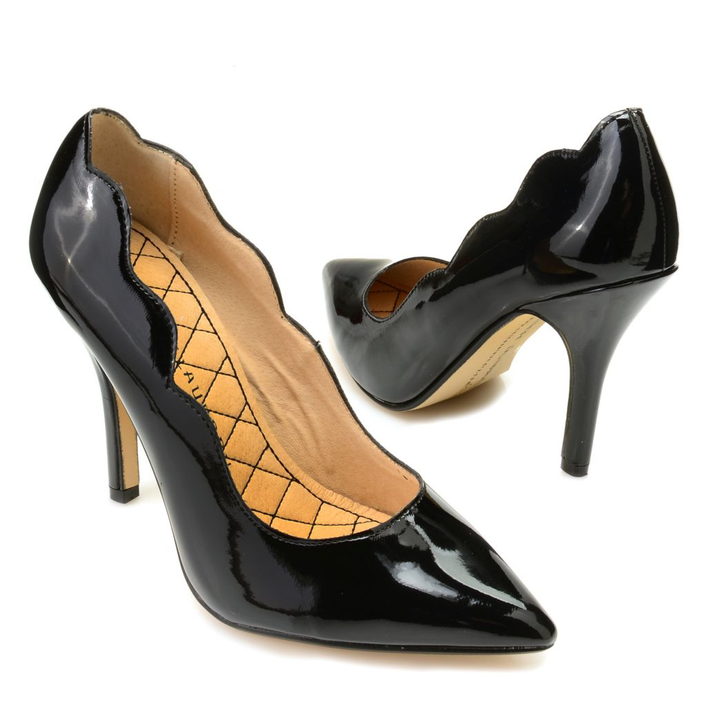 719-384 - Chinese Laundry Pointed Toe Scalloped Pumps
